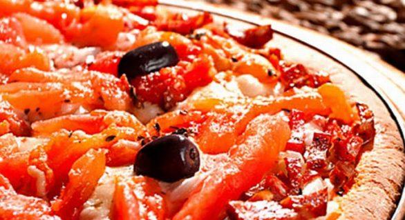 Família Presto, pizza boa. Simples assim.