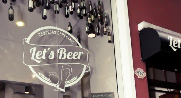 Let's Beer, mistura de loja e escola de cerveja
