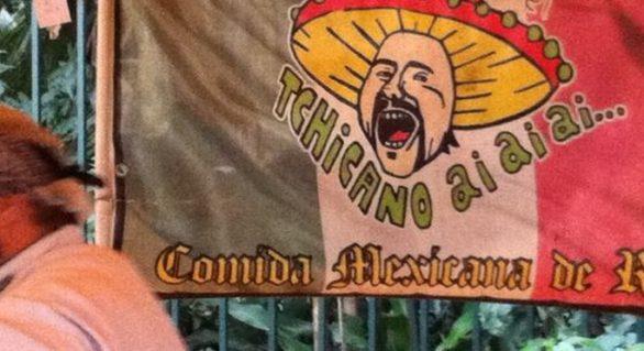 Tchicano Ai Ai Ai, mexicano de rua para espantar o frio do inverno