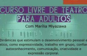 Curso livre de teatro com Marília Miyazawa